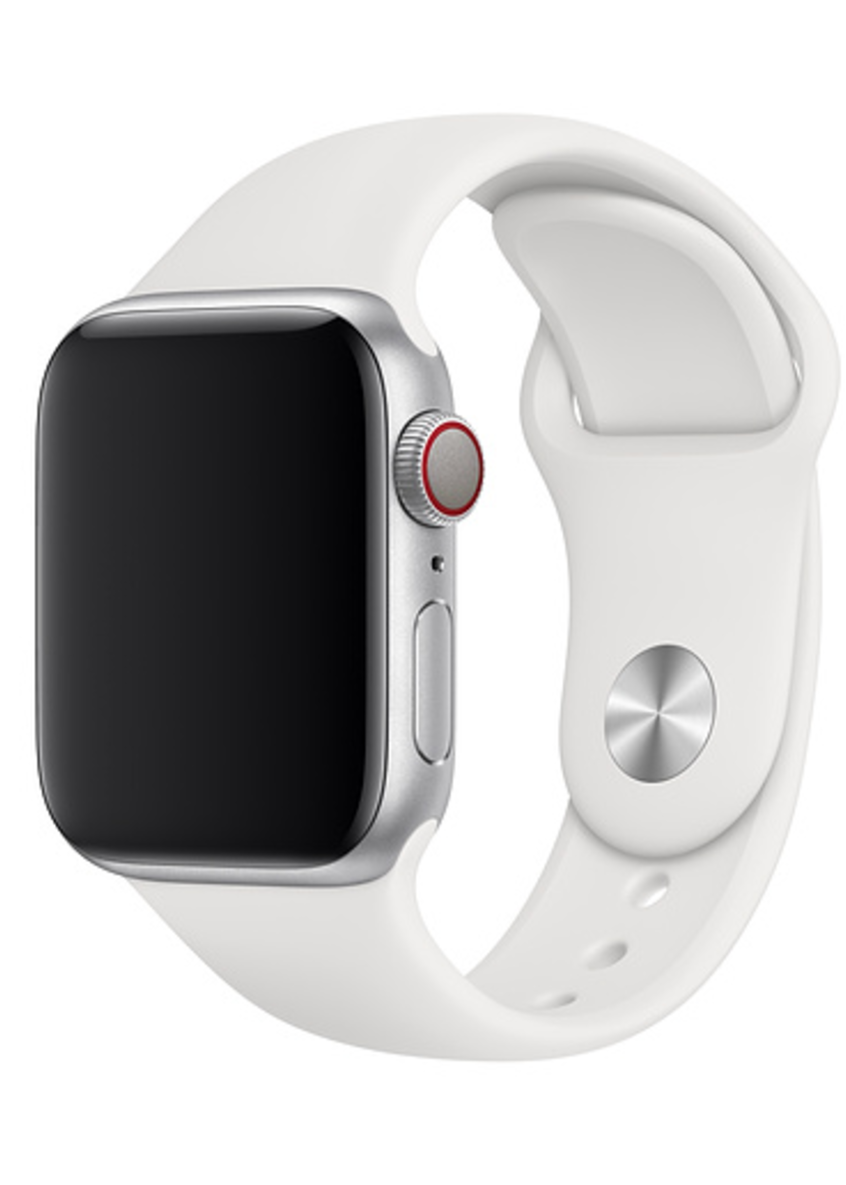 42mm/44mm white sports band