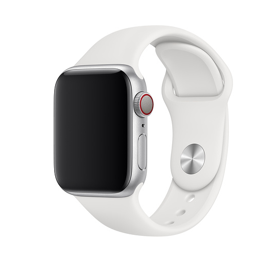 Apple 42mm/44mm white sports band