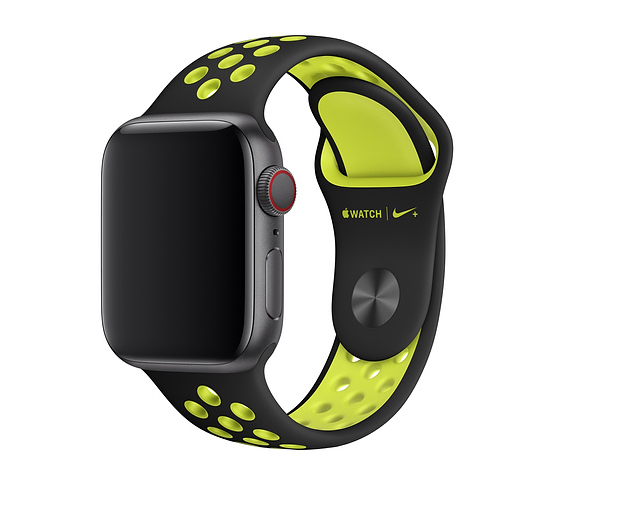 Apple 42mm/44mm Black Volt Nike Band