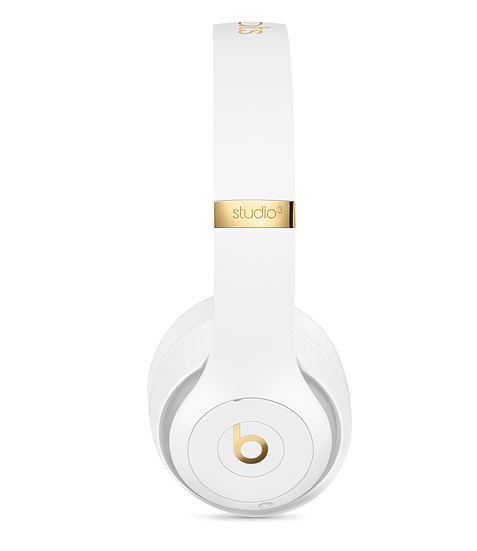 Apple Beats Studio 3 Wireless Over-Ear Headphones - White