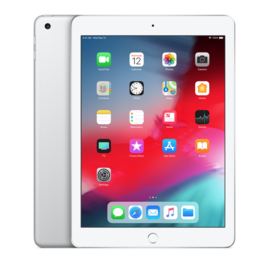 Apple iPad - Wi-Fi + Cellular - 128GB - Silver
