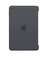 Apple iPad mini silicone case charcoal gray