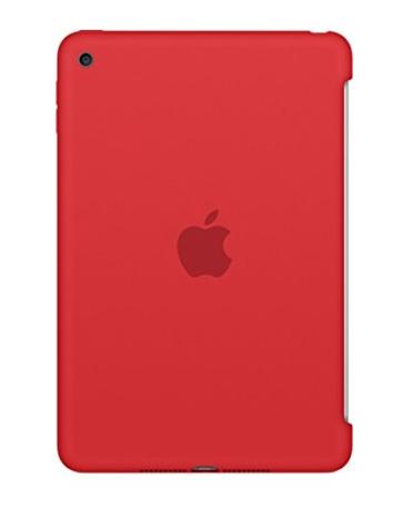 Apple iPad mini 4 silicone case red