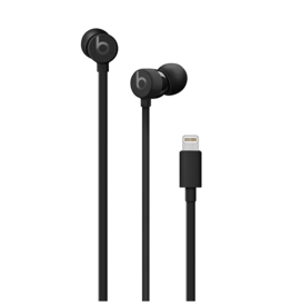 Apple urBeats3 Earphones w/Lightning Connector-Black