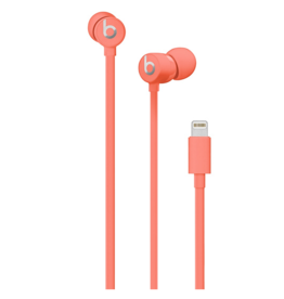 Apple urBeats Earphones w/Lightning Connector-Coral