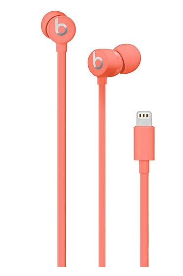 Apple urBeats Earphones w/Lightning Connector-Coral