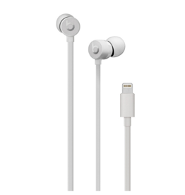 Apple urBeats 3 Earphones w/Lightning Connector-Satin Silver