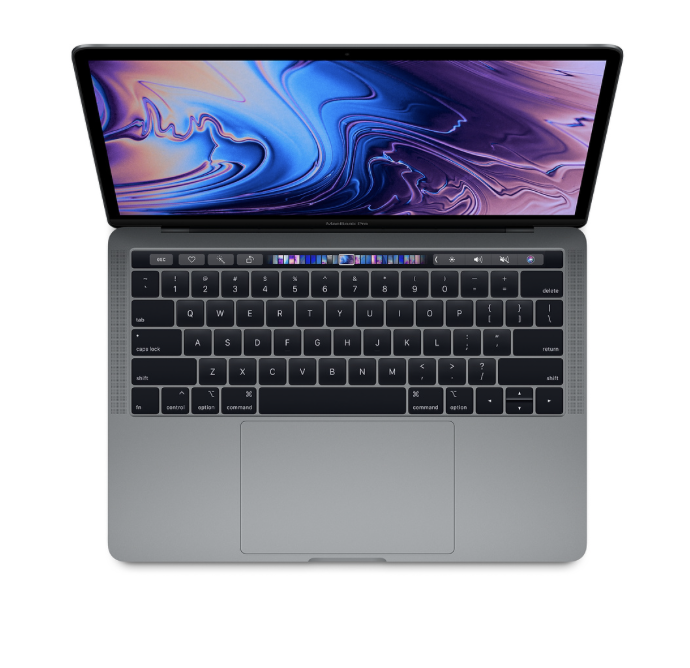 """Apple 13"""" Macbook Pro w/ touch bar - 128GB - Space Gray"""