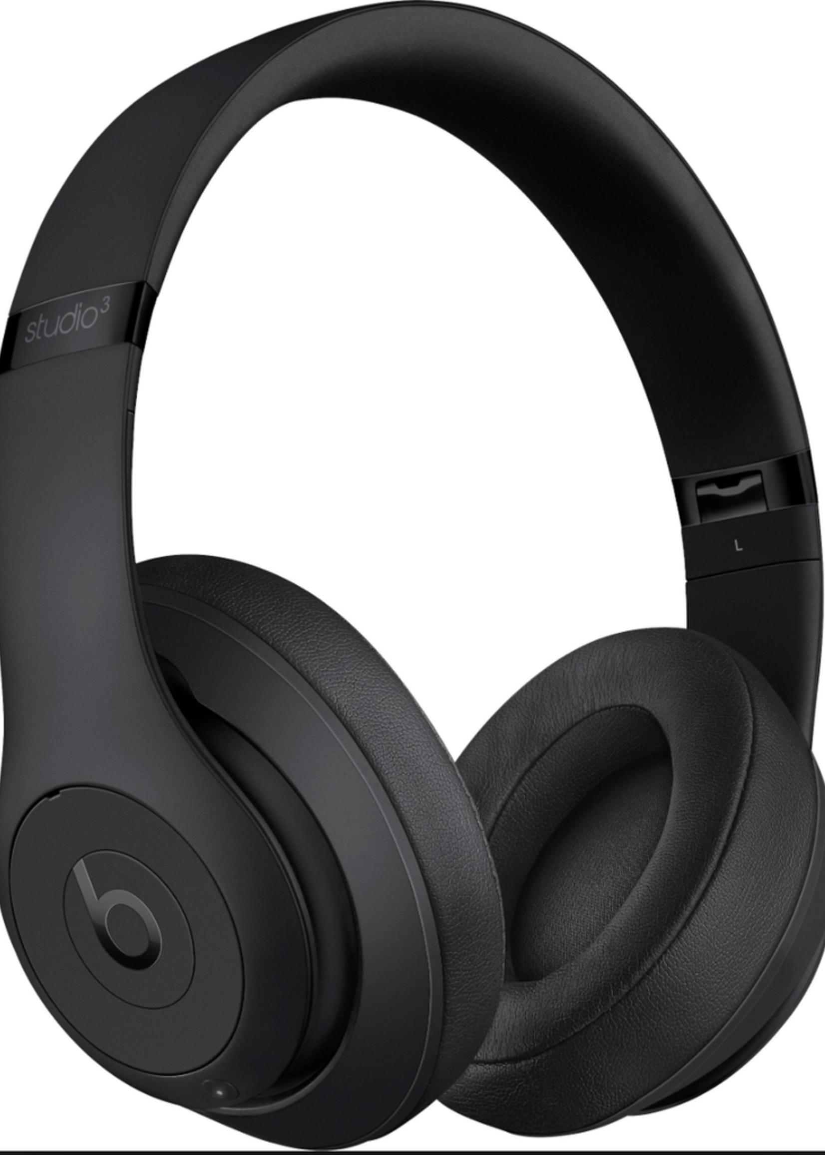 Beats Studio 3 Wireless Over-Ear Headphones - Matte Black