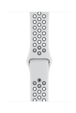 Apple Apple Watch Nike+ Series 4 GPS, 44mm Silver Aluminum Case with Pure Platinum/Black Nike Sport Band