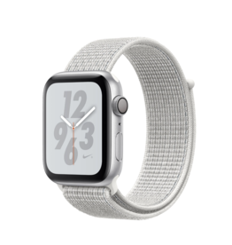 Apple Apple Watch Nike+ Series 4GPS 44mm Silver Aluminum Case w/Summit White Sport Loop