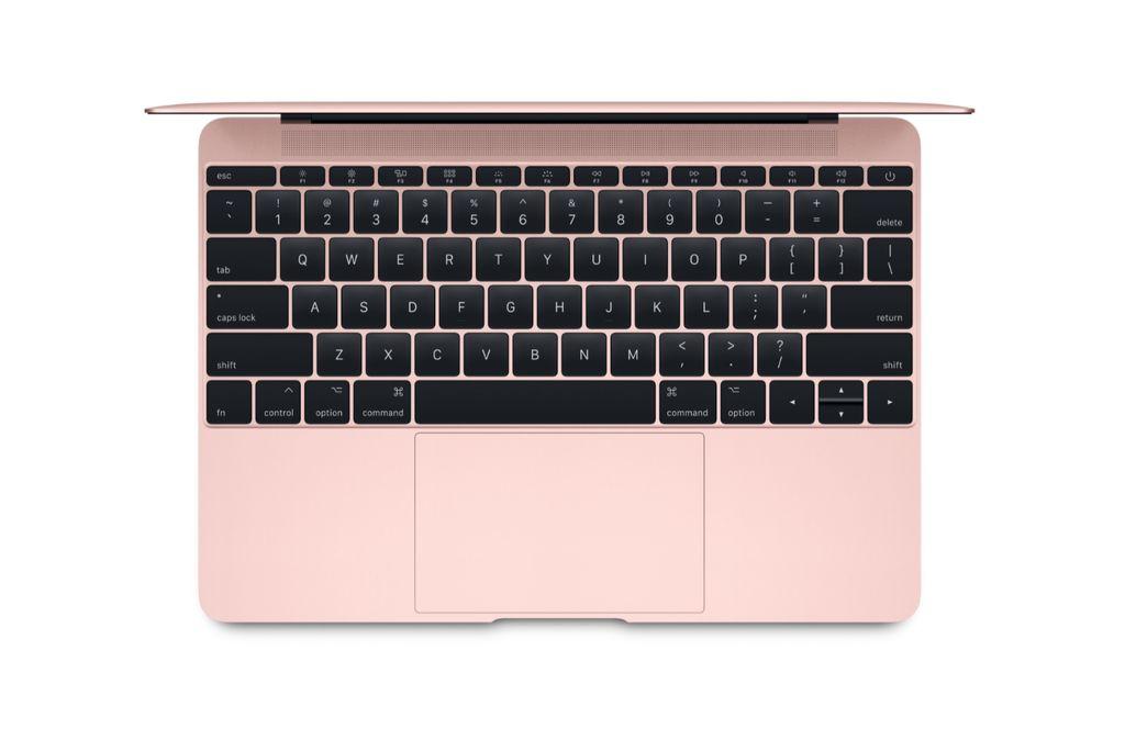 """Apple 12"""" Macbook - 8GB - 512GB - 2017 (Rose Gold)"""