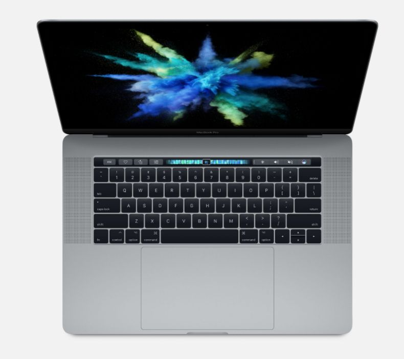 "Apple 15"" MacBook Pro w/Touch Bar - 16GB - 512GB - 2017 (Space Gray)"