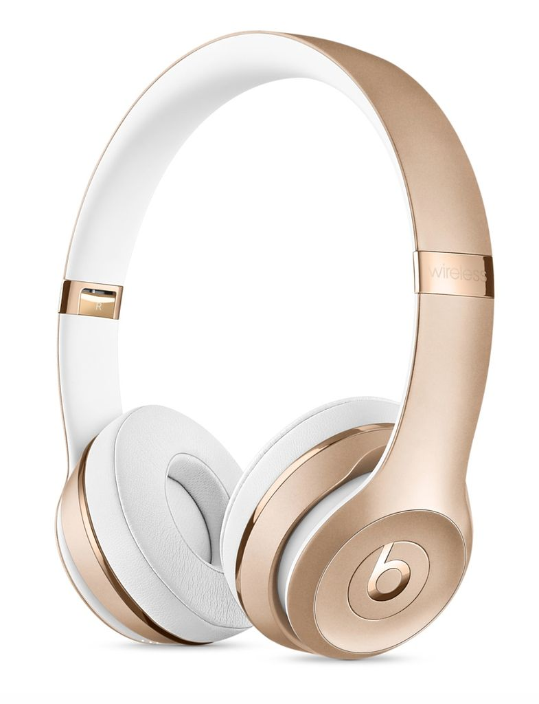Apple Beats Solo3 Wireless Headphones - Gold
