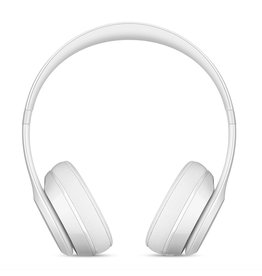 Apple Beats Solo 3 Wireless Headphones - Gloss White