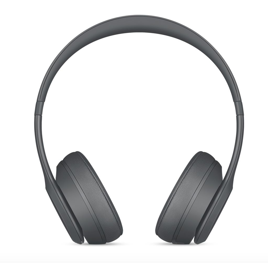 Apple Beats Solo 3 Wireless Headphones - Asphalt Gray
