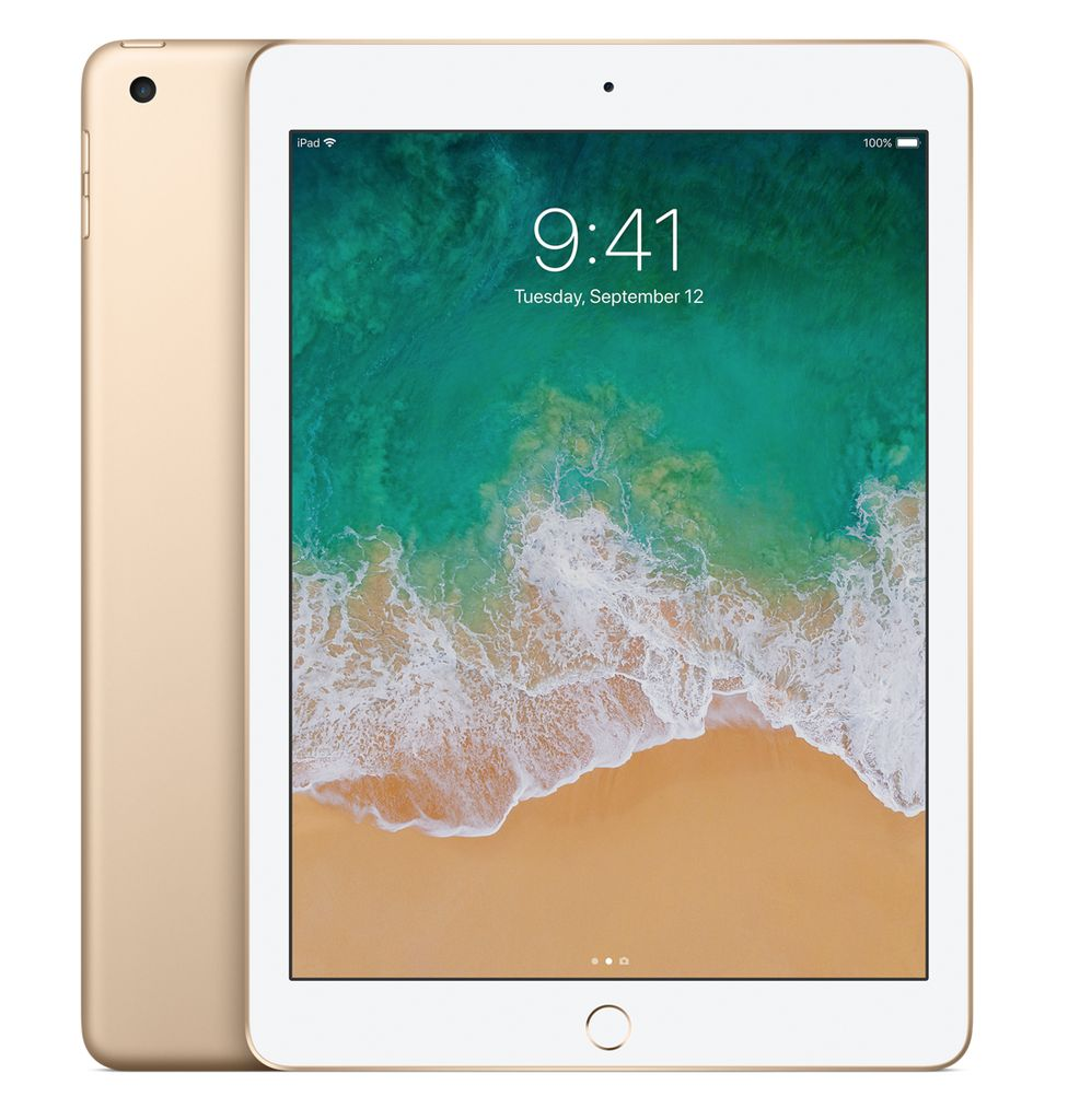 "Apple 9.7"" iPad WiFi + Cellular 128 GB 7th Gen (Gold)"