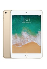 "Apple 7.9"" iPad Mini 4 WiFi + Cellular 128 GB 7th Gen (Gold)"