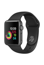 Apple AppleWatch Series 1 38mm Space Gray Aluminum w/ Black Sports Band