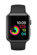 Apple AppleWatch Series 3 GPS 42mm Space Gray Alumimum w/Black Sports Band