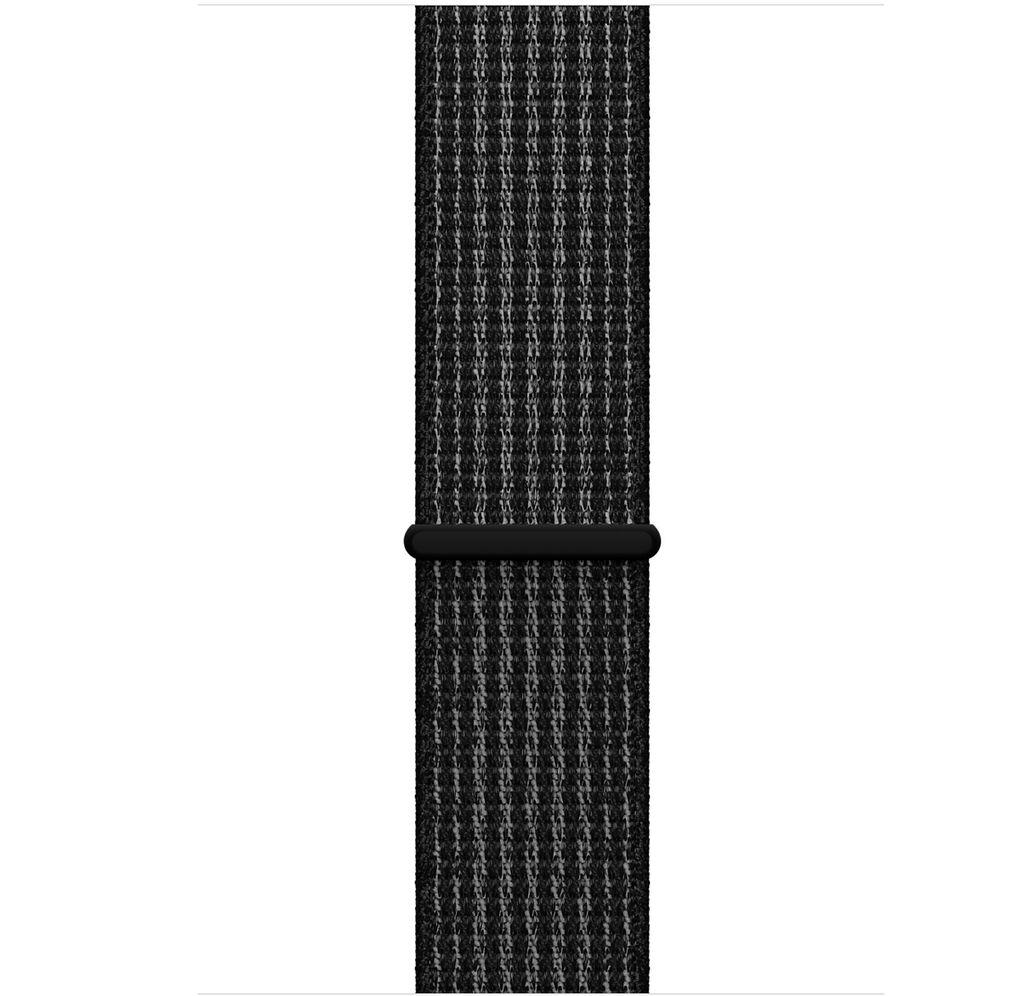 Apple AppleWatch Nike+GPS Cellular 42mm Space Gray Aluminum Case w/ Black/Pure Platinum Sport Loop
