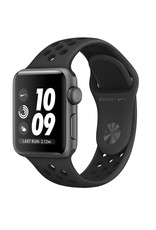 Apple AppleWatch Nike+GPS 38mm Space Gray Aluminum Case with Antharacite/Black Nike sports Band