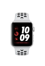 Apple AppleWatch Nike+GPS+Cellular 38mm Silver Aluminum Case with Pure platinum/Black Nike Sport Band