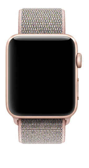 Apple 42mm pink sand sport loop