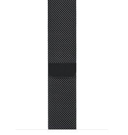 Apple 42mm space black milanese loop