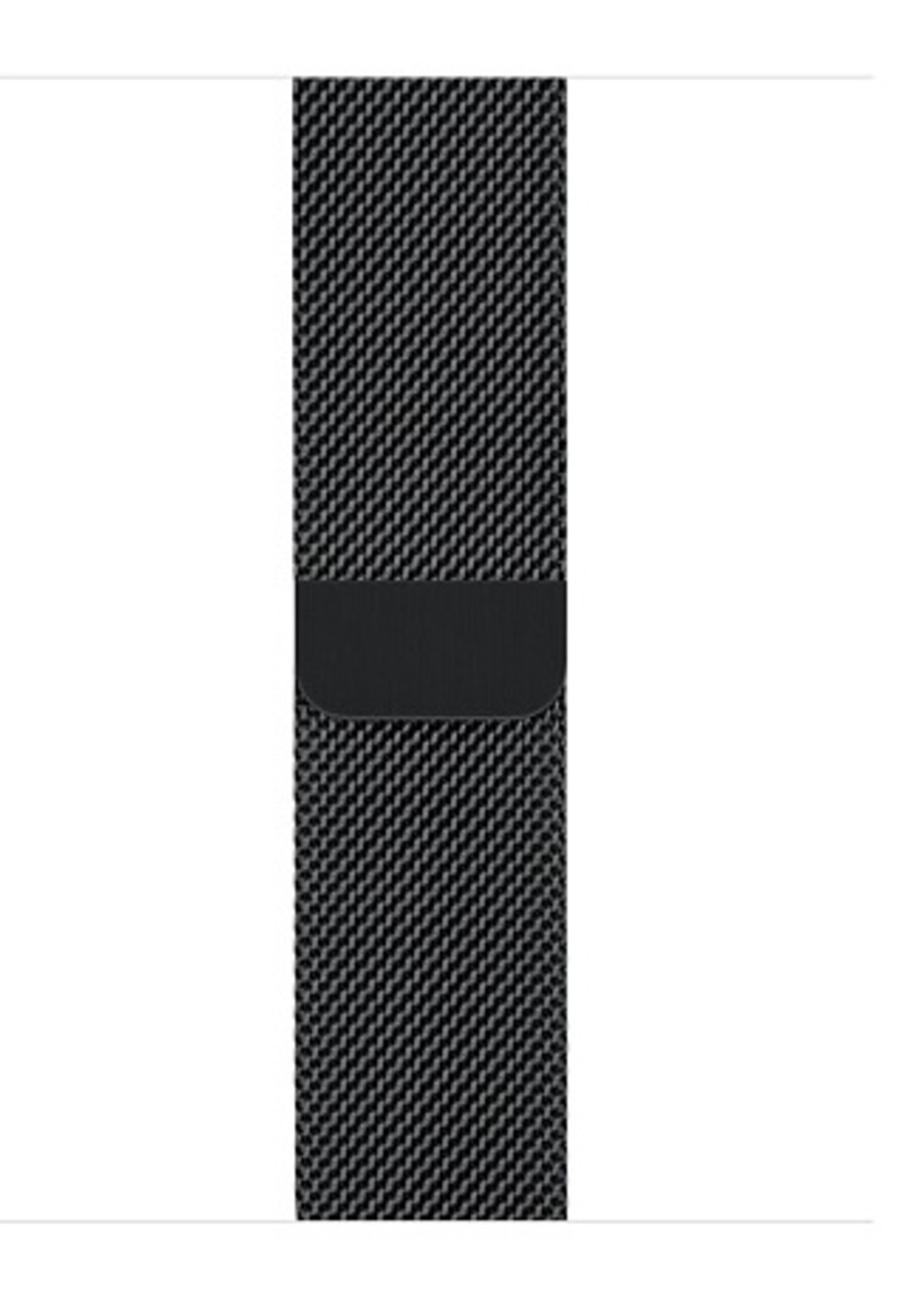 38mm/40mm Space Black Milanese Loop