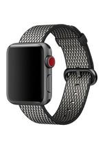Apple 38mm black check woven nylon