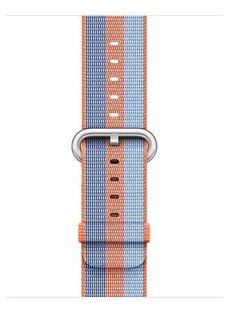 Apple Apple - Woven Nylon for Apple Watch 42mm - Orange