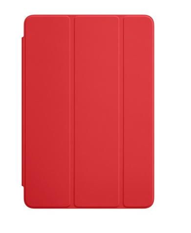 Apple iPad mini smart cover red