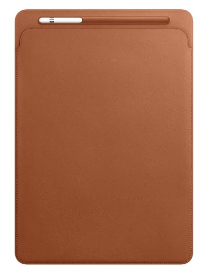 Apple iPad Pro 12.9 Leather Sleeve - Saddle Brown