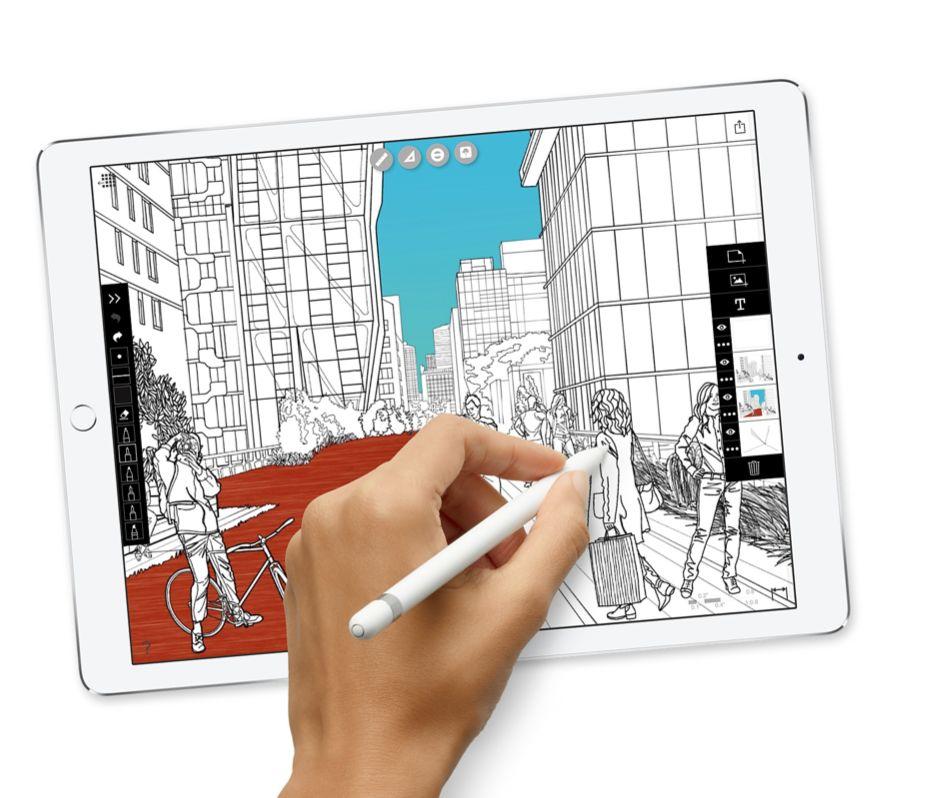 """Apple 10.5"""" iPad Pro WiFi 64 GB 7th Gen (Silver)"""