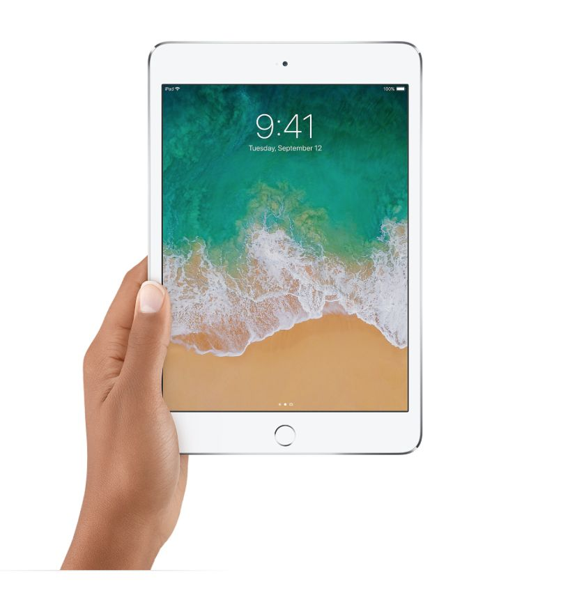 "Apple 7.9"" iPad Mini 4 WiFi 128 GB 7th Gen (Gold)"