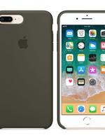iPhone 8 Plus/7 Plus Silicone Case - Dark Olive