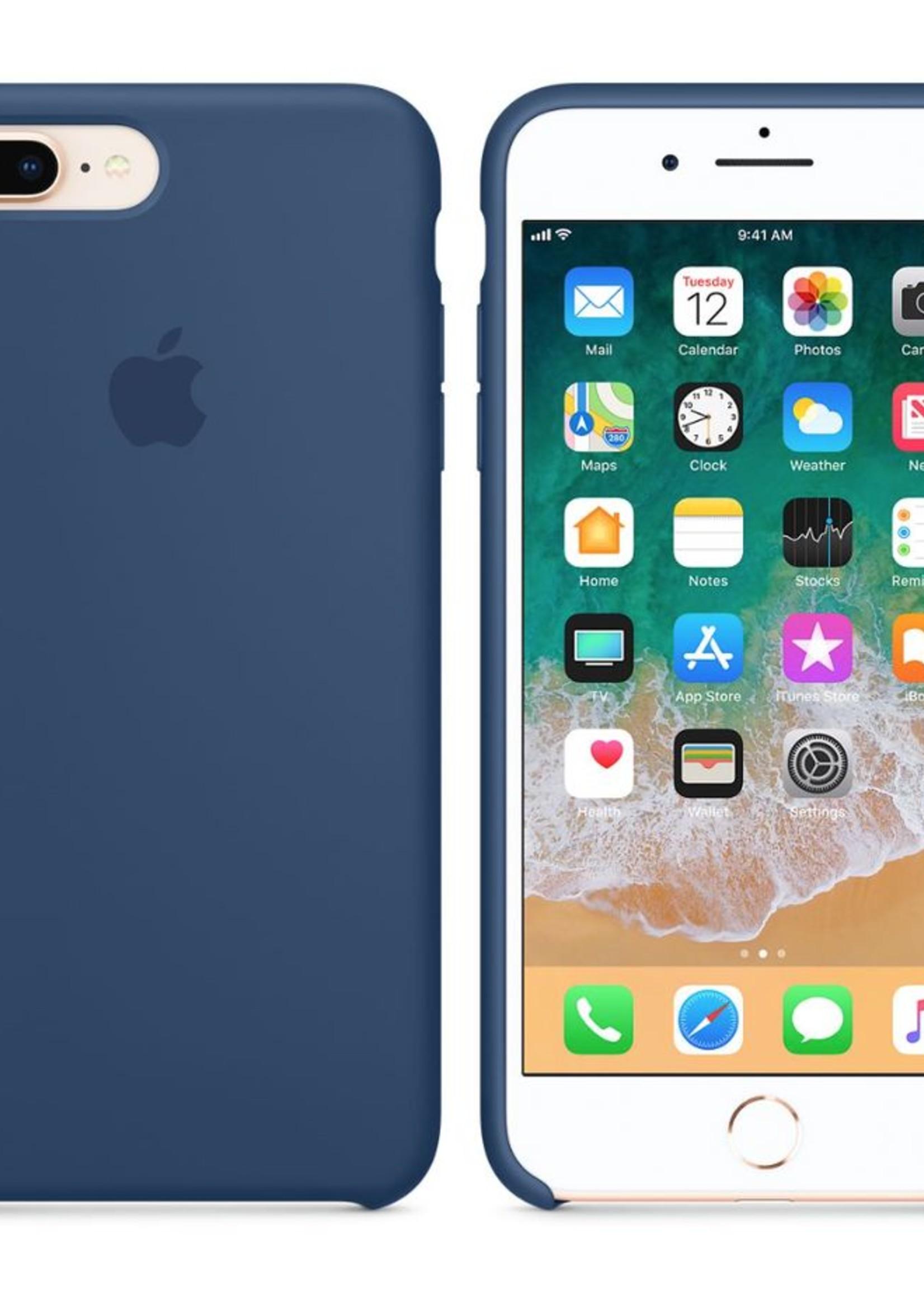 iPhone 8 Plus/7 Plus Silicone Case - Midnight Blue