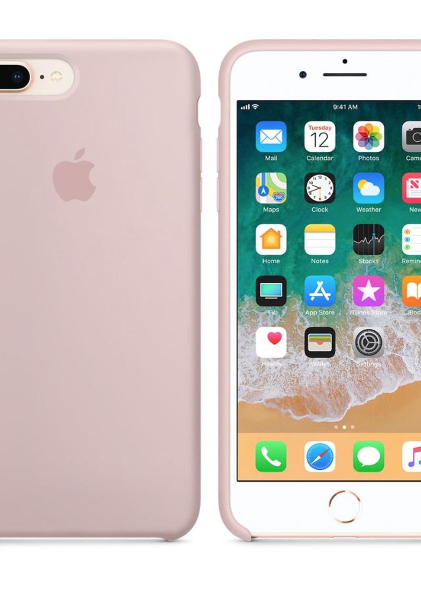 iPhone 8 Plus/7 Plus Silicone Case - Pink Sand