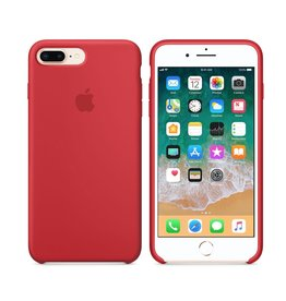Apple iPhone 8 Plus/7 Plus Silicone Case - Product Red