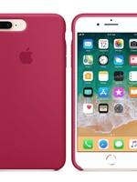 iPhone 8 Plus/7 Plus Silicone Case - Rose Red