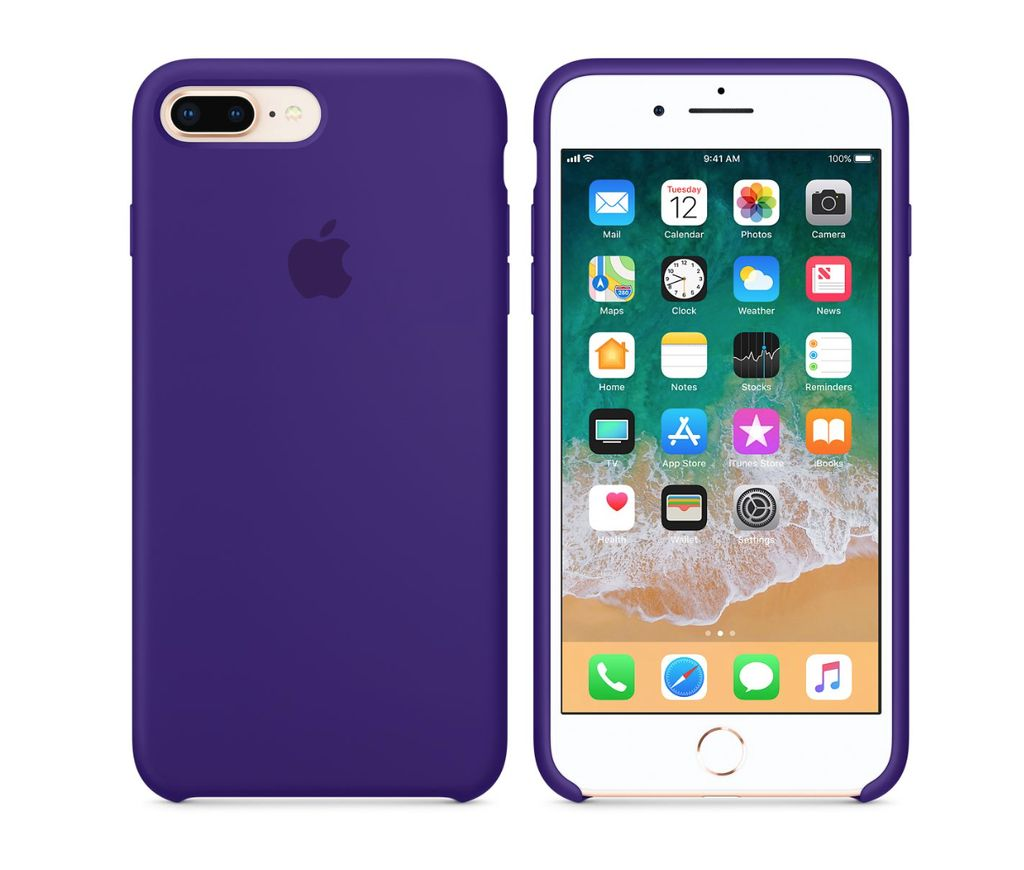 new product 980aa b8e5e iPhone 8 Plus/7 Plus Silicone Case - Ultra Violet