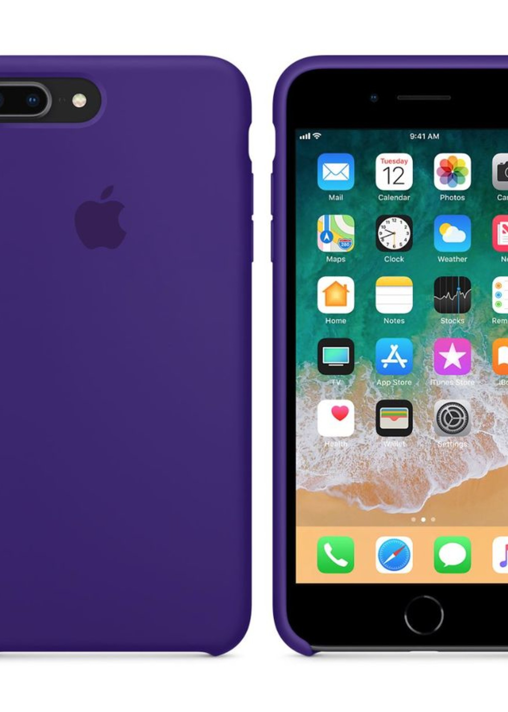 iPhone 8 Plus/7 Plus Silicone Case - Ultra Violet