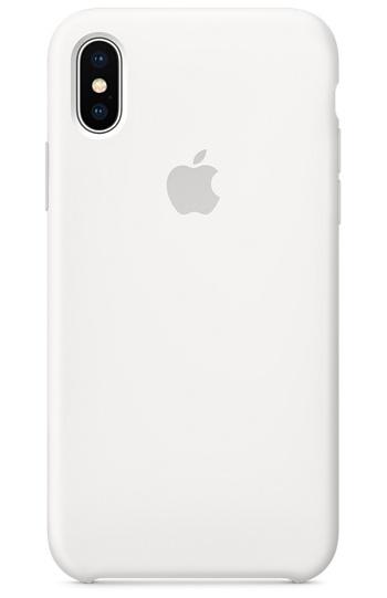 Apple iPhone X Silicone Case - White