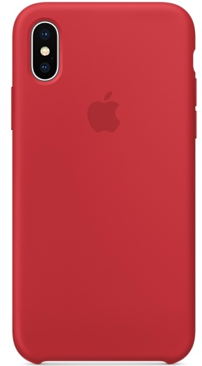 release date 9d812 0fde2 iPhone X Silicone Case -Product Red
