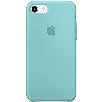 100% authentic 7a130 f58e9 iPhone 8/7 Silicone Case - Sea Blue
