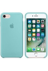 Apple iPhone 8/7 Silicone Case - Sea Blue