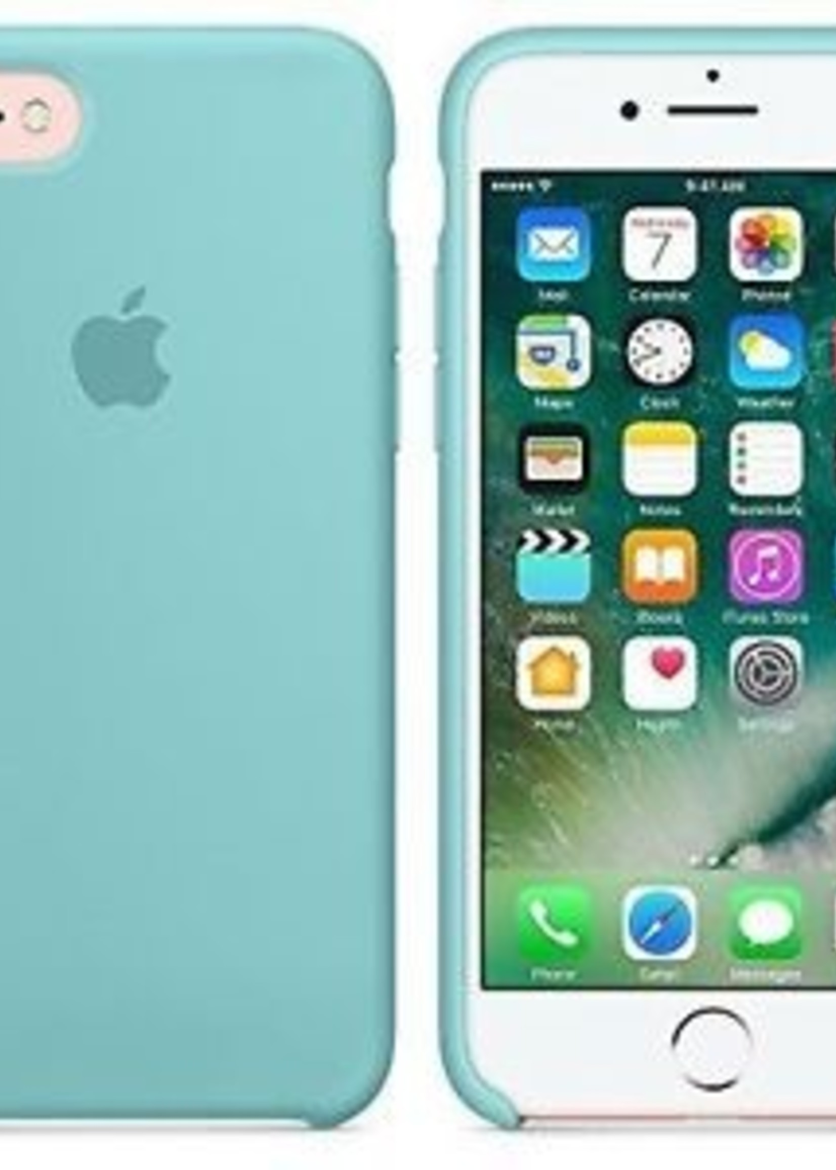 iPhone 8/7 Silicone Case - Sea Blue
