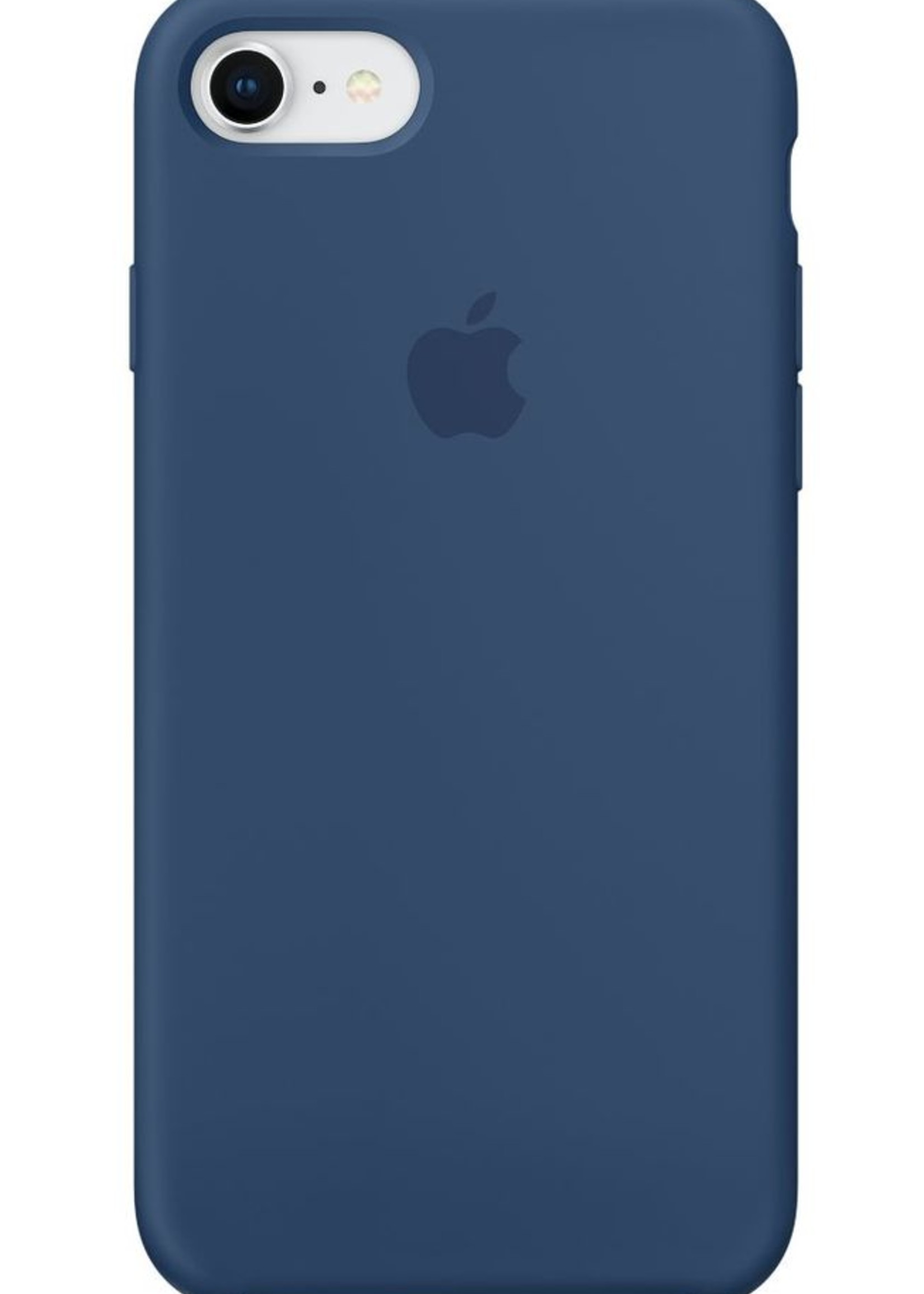 iPhone 8/7 Silicone Case - Blue Colbalt