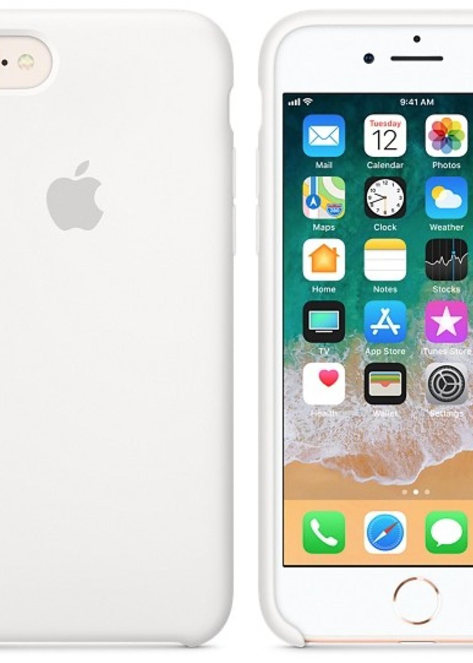 iPhone 8/7 Silicone Case - White